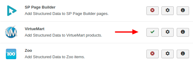 VirtueMart Structured Data