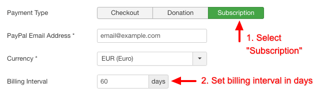 acf-paypal-subscription-billing-days