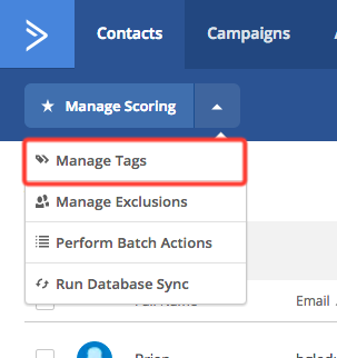 activecampaign tag manager