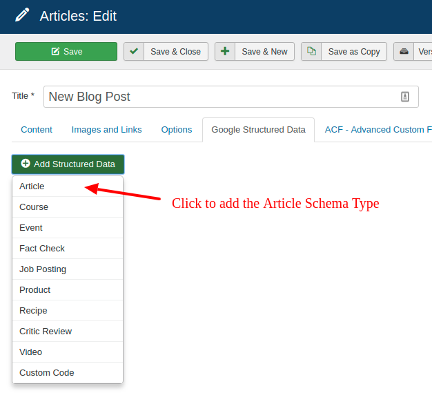 add star ratings to your article