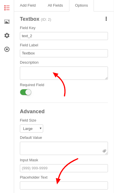 convert forms input mask additional visual text