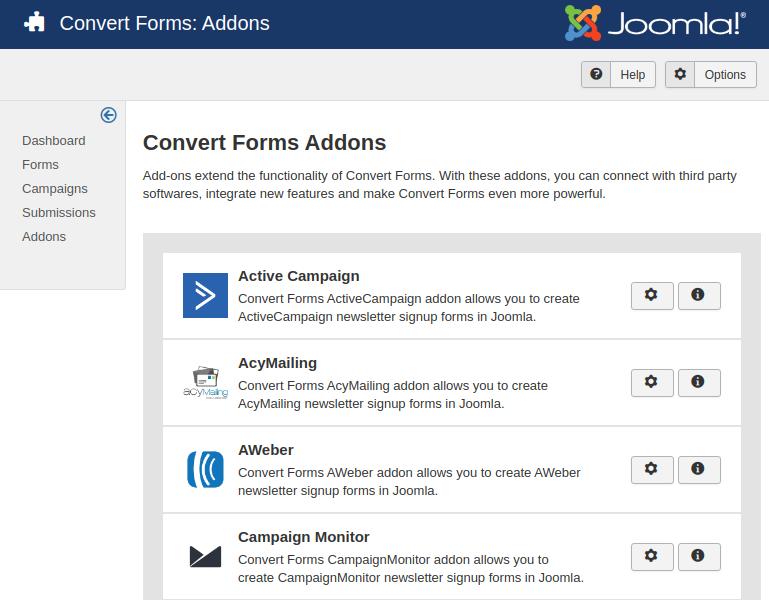 convert forms addons