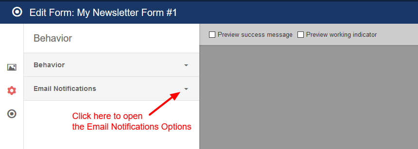 convert forms email notifications