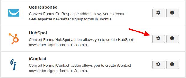 hubspot convert forms addon