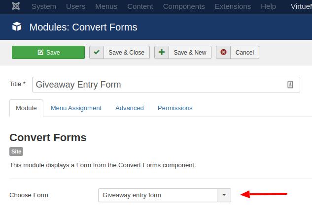 convert forms module
