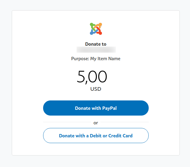 Convert Forms PayPal Donation