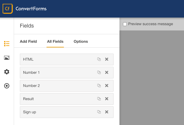 Convert Forms Field Calculations New Form