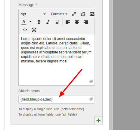 Convert Forms Email Notification File Attachments