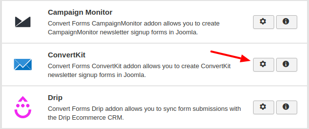 convertkit convert forms addon