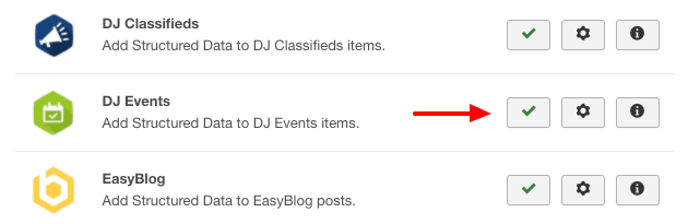 DJ Events Structured Data