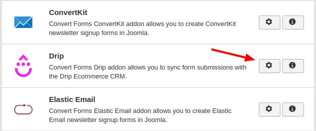 drip convert forms addon