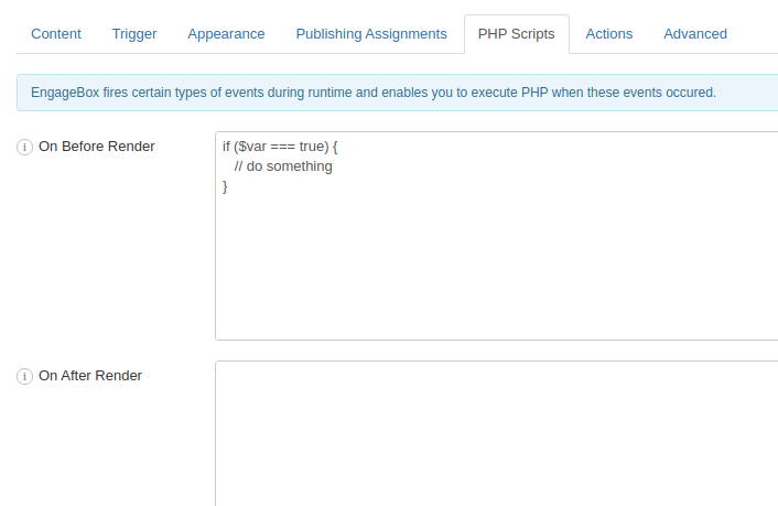 EngageBox PHP Scripts