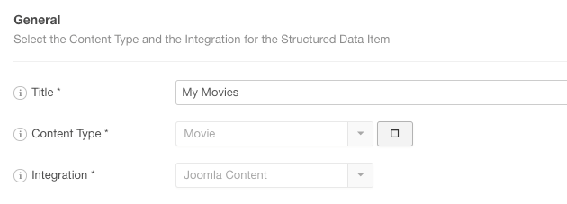 The Movie Structured Data