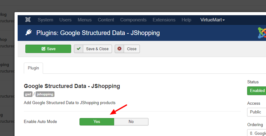 gsd3-jshopping-settings