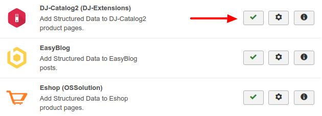 DJ Catalog Structured Data