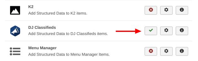DJ Classifieds Integration Enable