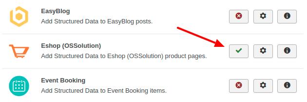 Eshop Structured Data