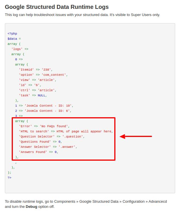 FAQ Schema Example 4 XPath