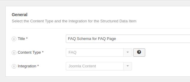 The FAQ Structured Data