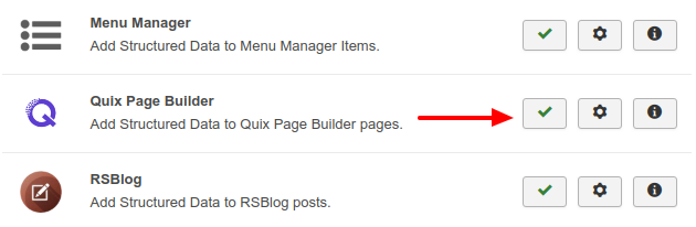 Quix Page Builder Structured Data