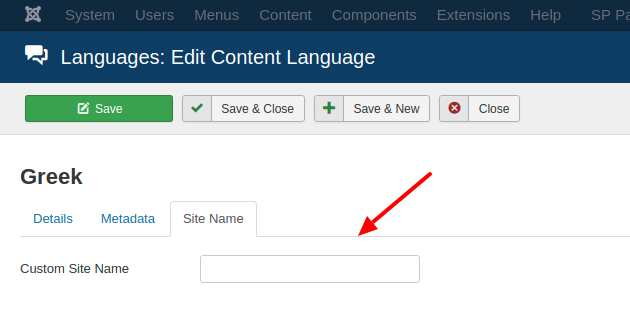 Add the Site Name Structured Data to your Joomla site