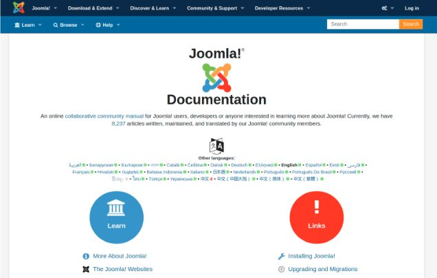 Joomla Official Documentation and Tutorials