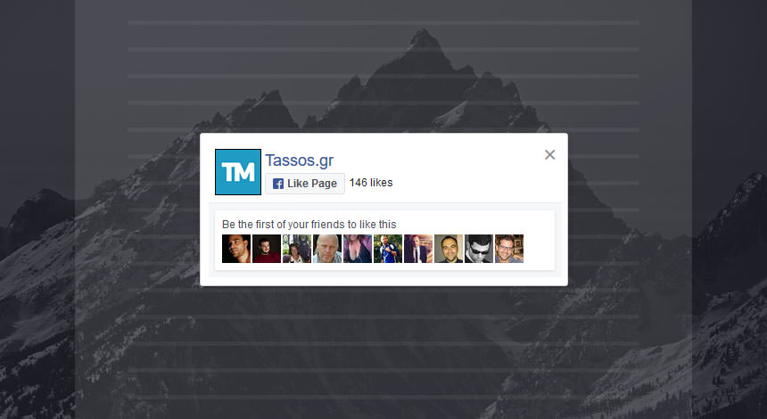 Joomla Popup - Facebook Like Box