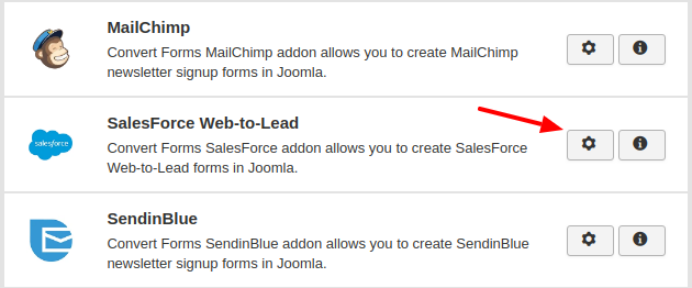 salesforce convert forms addon