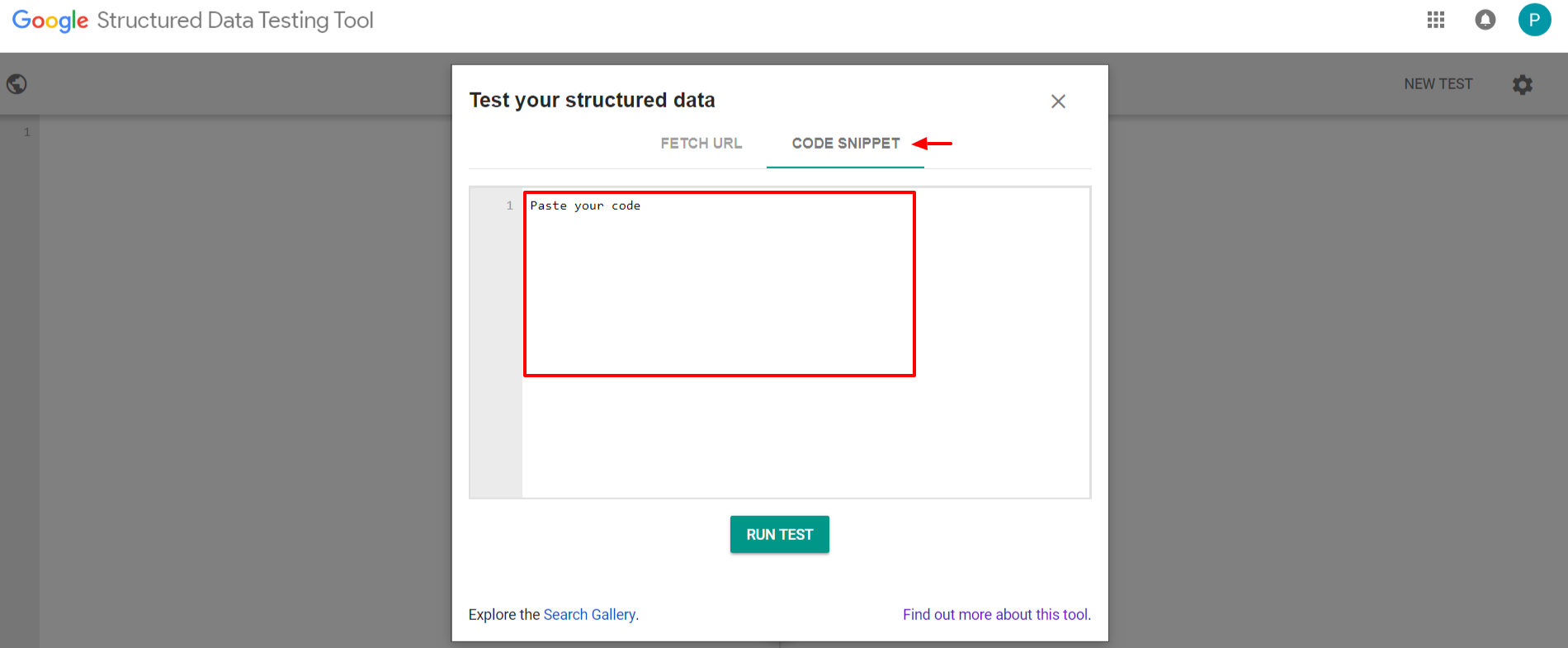 Google Stuctured Data Testing Tool