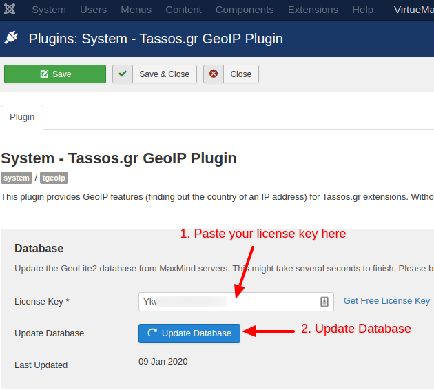 TGeoIP Paste License Key and Update