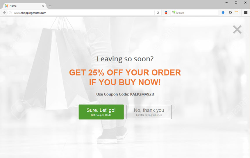 Yes No Popup Cart Abandonment for Joomla