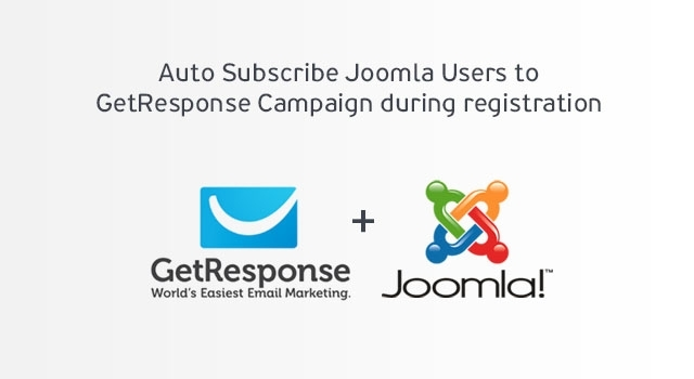 New Joomla Extension - GetResponse Auto Subscribe