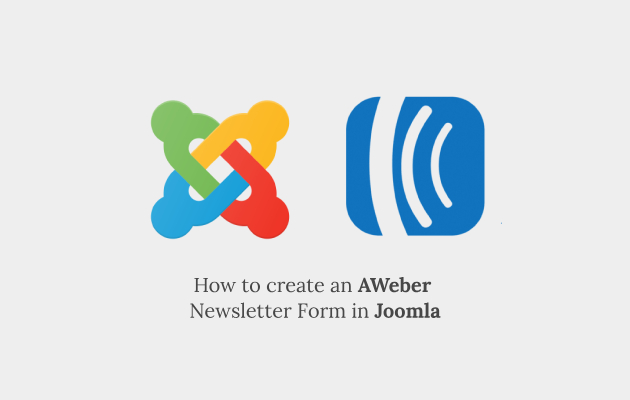How to Create an AWeber Subscribe Form in Joomla
