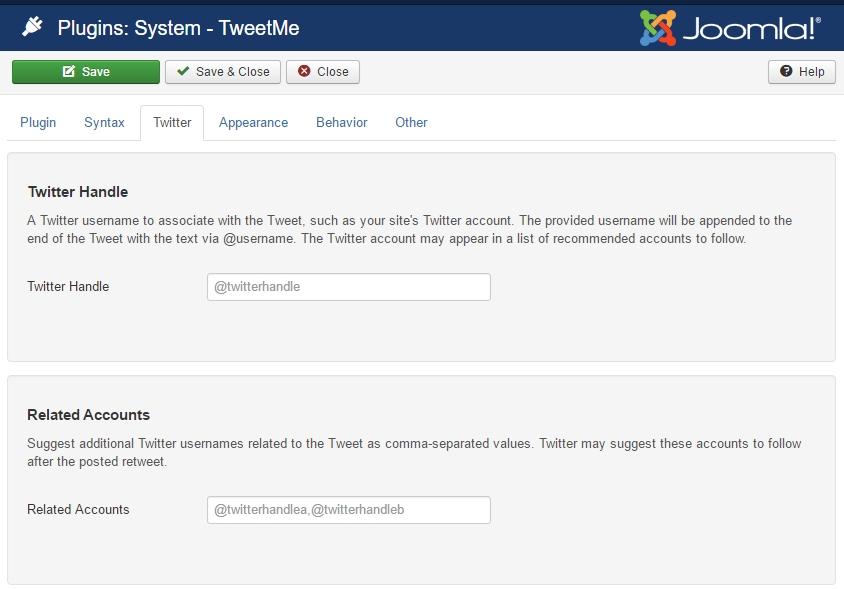 TweetMe v1.2.2 released