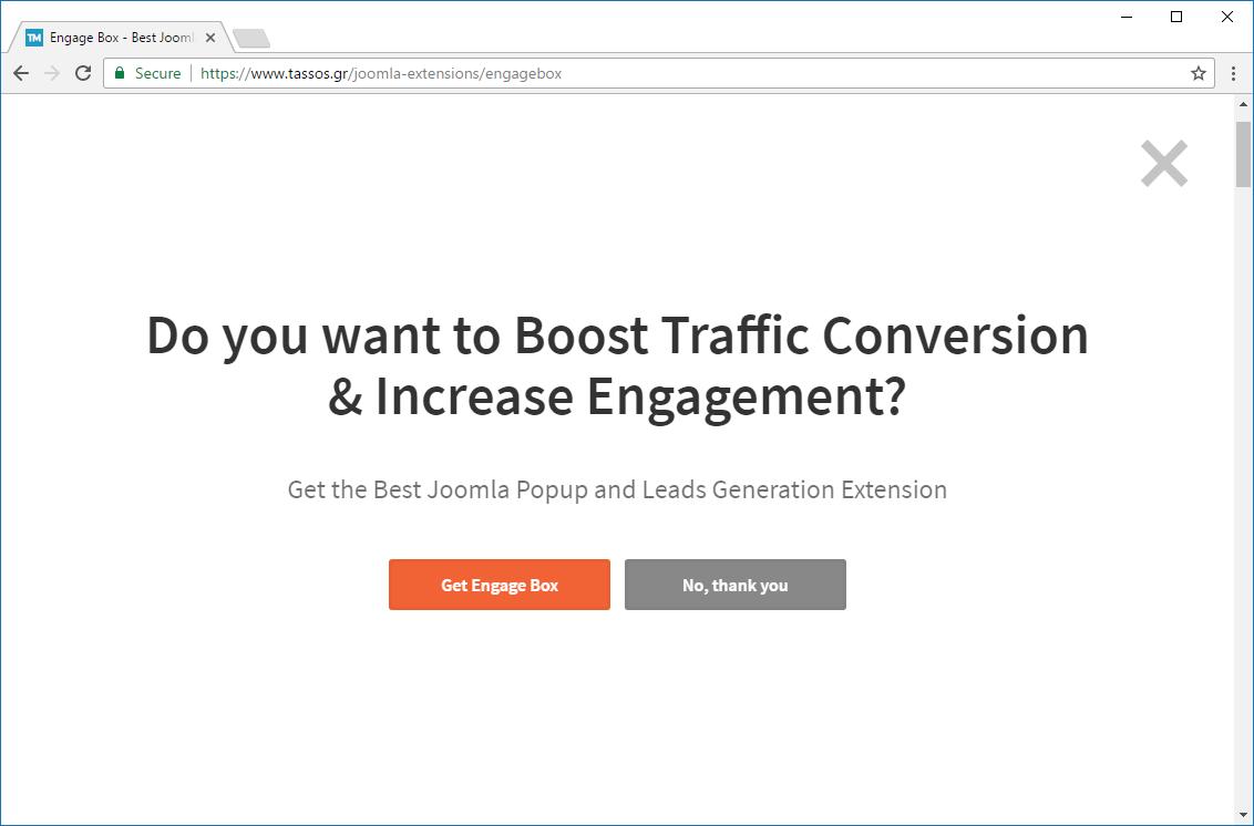 create fullscreen message popup