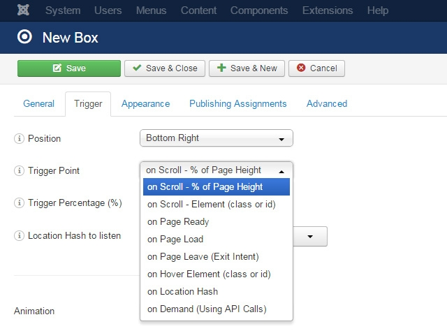What's new in Responsive Scroll Triggered Box 1.6