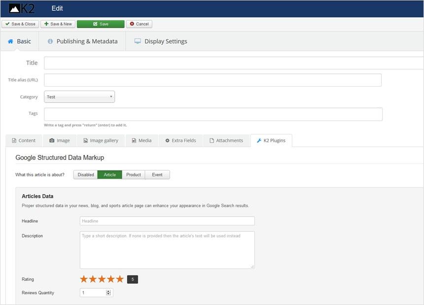 Google Structured Data Markup v2.0.1 released