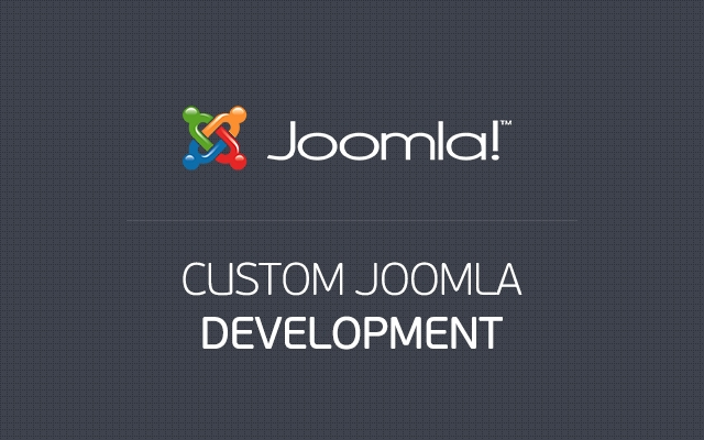 Custom Joomla Development
