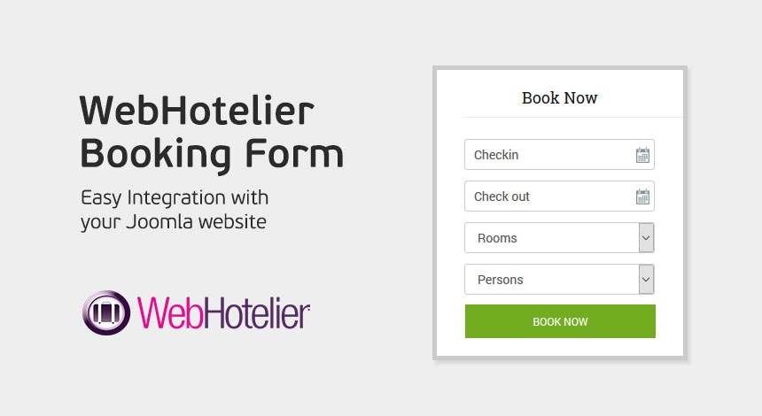 Joomla Extensions - WebHotelier Booking Form