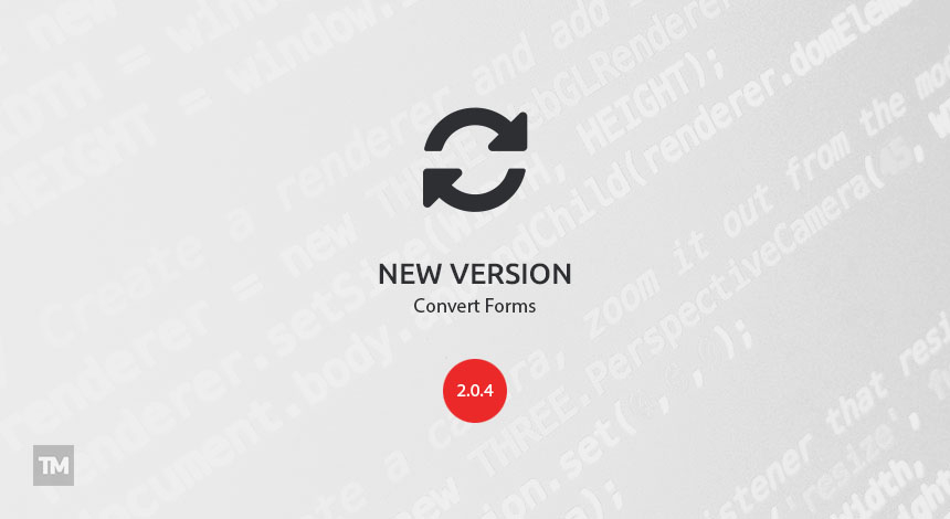 Convert Forms 2.0.4 security release