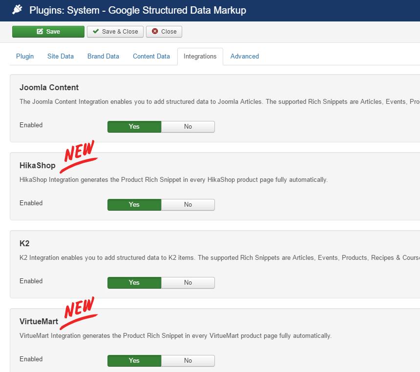Google Structured Data Markup v2.1 released