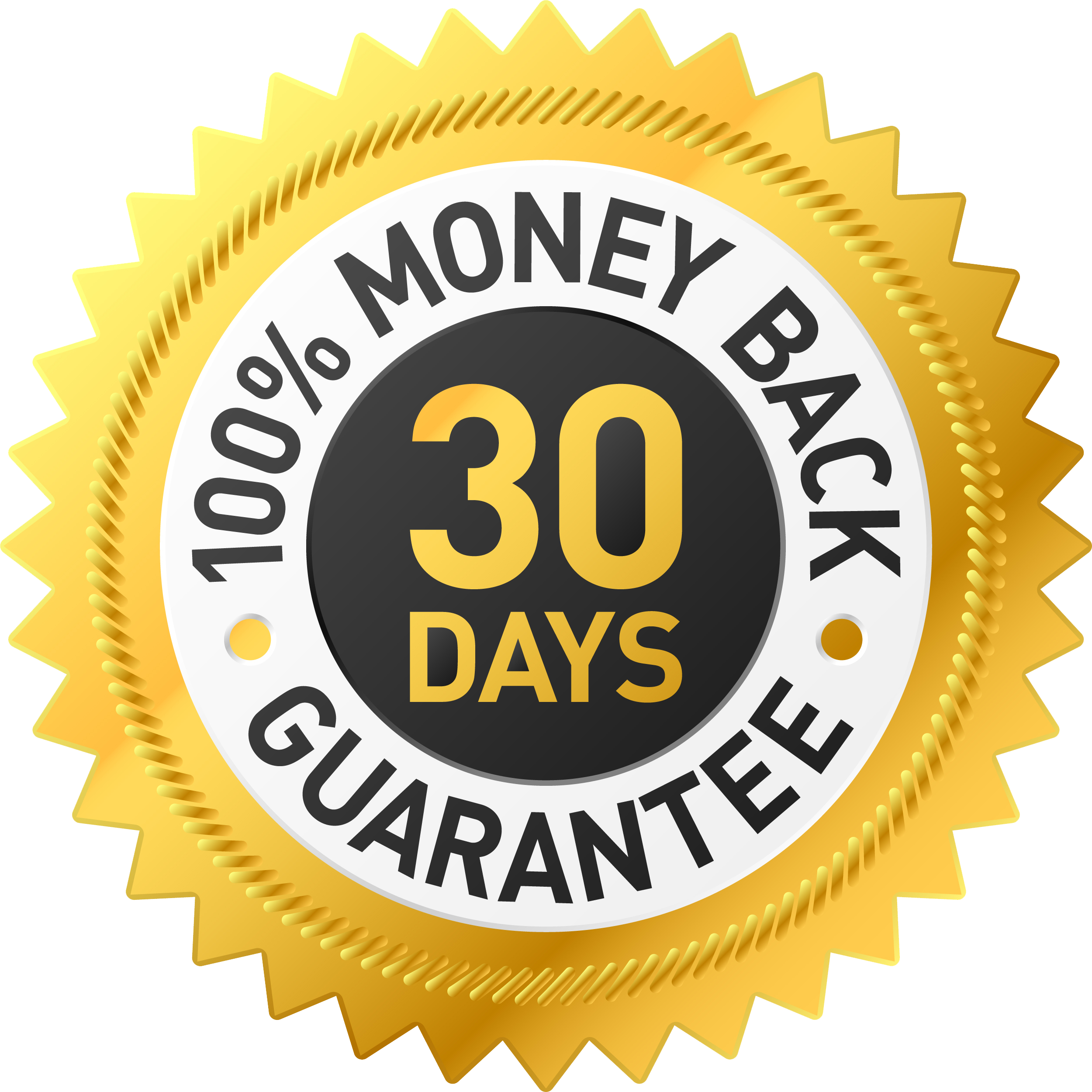 My 100% No-Risk Money Back Guarantee!